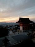 Sunset at Kiyomizudera