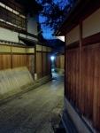 Empty Gion Neighborhood at Night