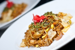 One of my favorite Japanese dishes, yakisoba.