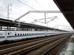 Shinkansen from Himeji to Hiroshima.