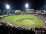Beautiful stadium for Japanese standards.