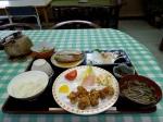 Dinner at Setoda Private Hostel.