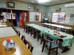 Dining room at Setoda Private Hostel.