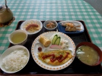 Breakfast at Setoda Private Hostel.