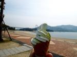 Salt and green tea mix from Hakata Island.