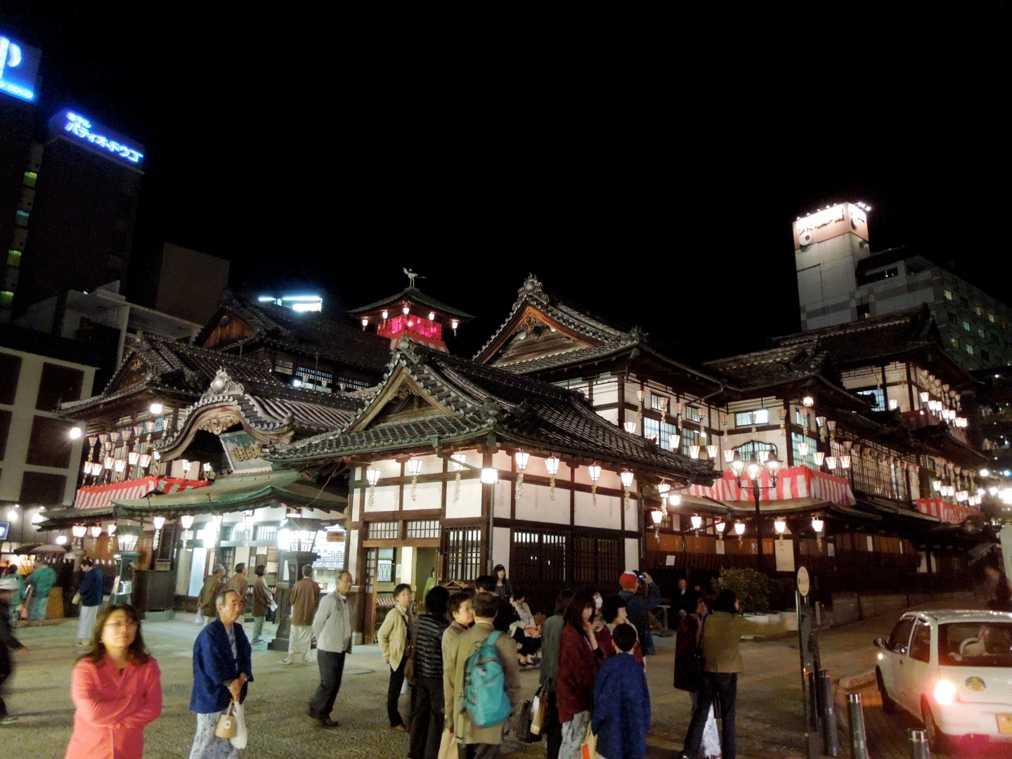 The oldest onsen in the world, Dogo Onsen.