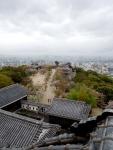 Atop Matsuyama Castle