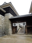 Entrance to Matsuyama Castle