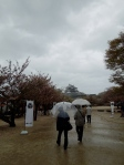 A rainy day at Matsuyama Castle