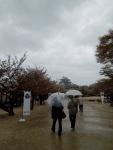 A rainy day at Matsuyama Castle