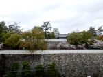 Fukuyama castle from the train station.